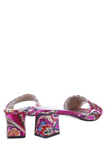 Girl Boss Sandalet Fuşya